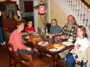 традиция воскресных семейных обедов