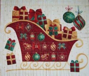 адвент-календарь на скорую руку