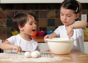 совместное приготовление еды