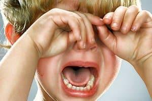 детские капризы и истерики