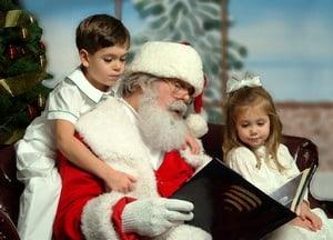 знакомство детей с дедом Морозом
