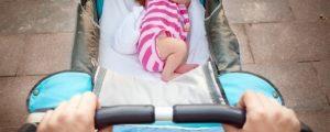 Прогулка с новорождённым