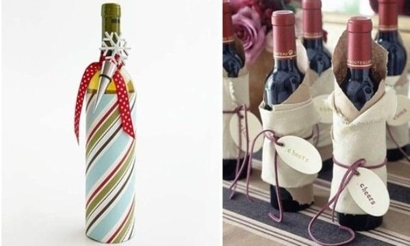 Красиво упаковываем вино