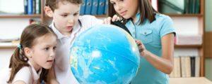 Глобус для ребёнка