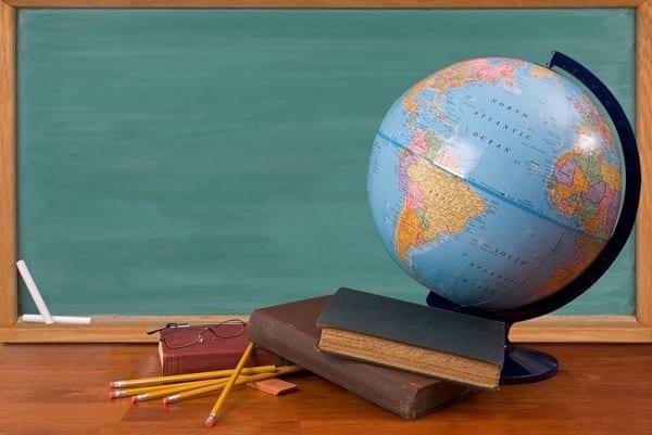 Глобус настольный для ученика