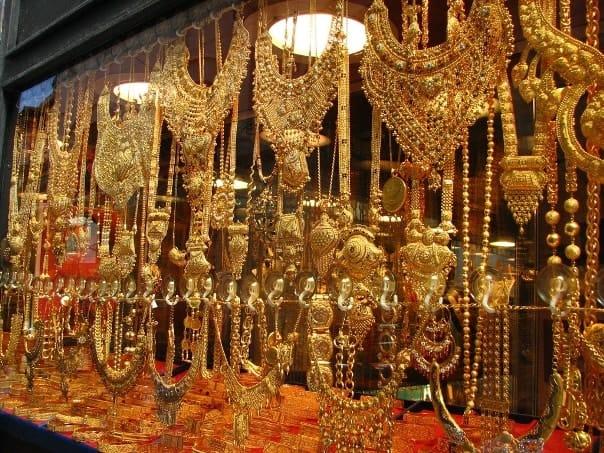Золотые украшенич из Турции