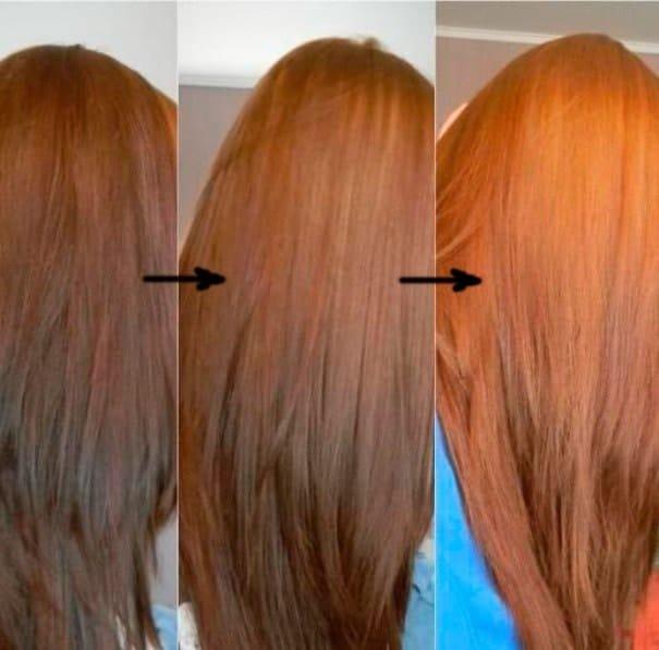 Рыжий оттенок волос