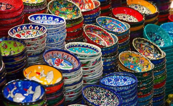 Красивая керамическая посуда