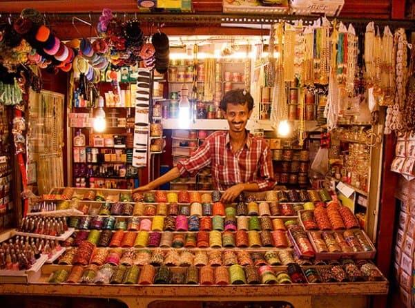 Торг с местным продавцом