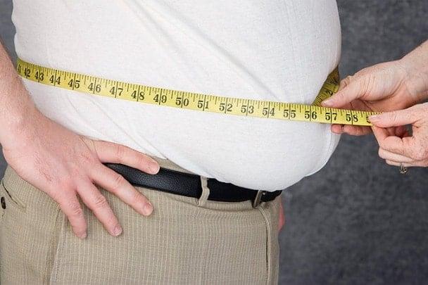 Лишние килограммы у мужа