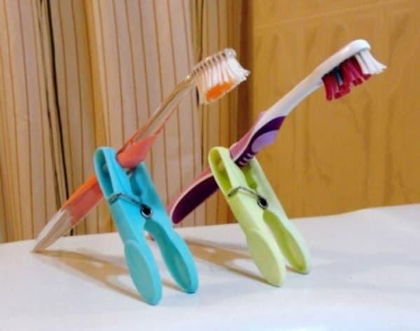Лайфхак для зубной щетки