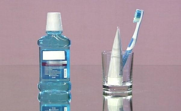 Ополаскиватель для зубной щётки