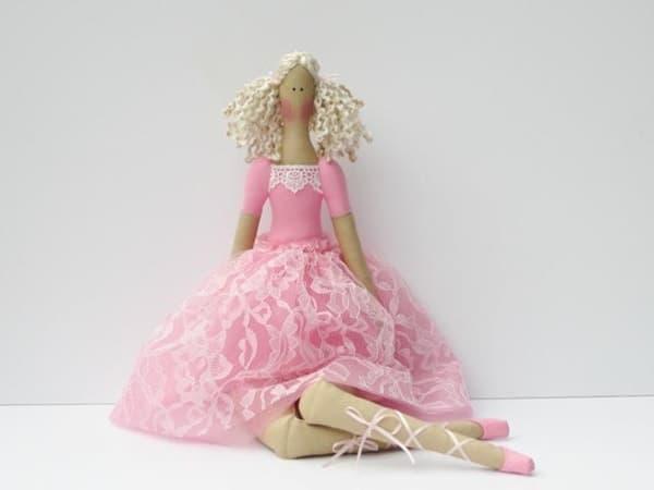 Тряпичная кукла Тильда