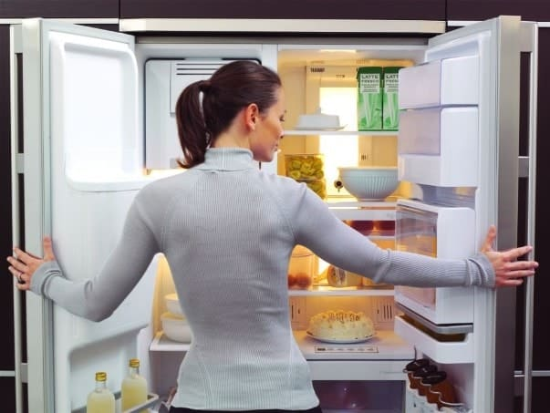 Осмотр холодильника