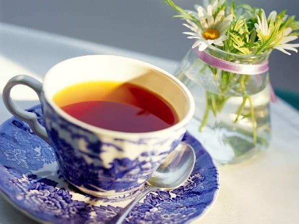 Чай с красивой чашки