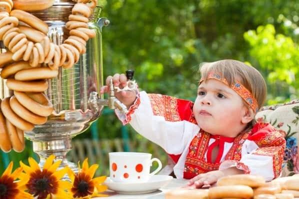 Чай с бубликами