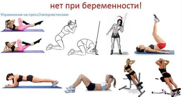 Упражнения под запретом
