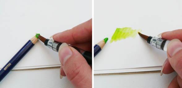 Акварельный карандаш