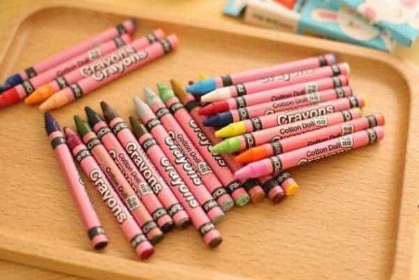 Восковые цветные карандаши