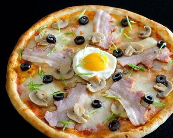 Пицца в Англии