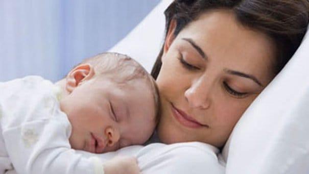 Сон с малышом