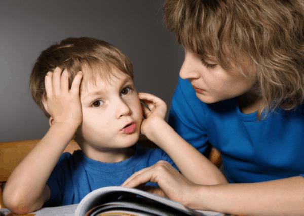 Совместное занятие с ребенком