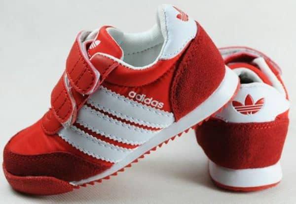Детские кроссовки с нубука