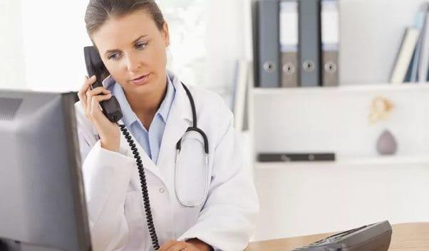 Звонок в поликлинику