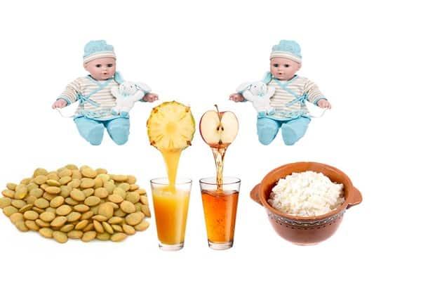 Продукты для зачатия двойни