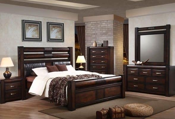 Кровать из массива гевеи
