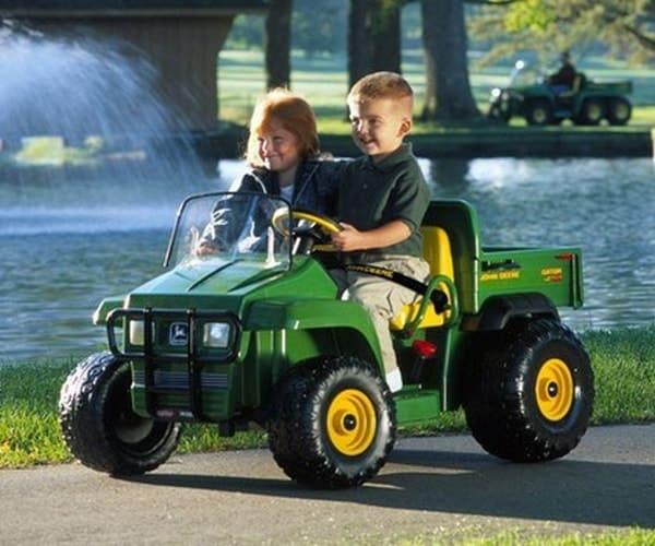 Детский электромобиль-грузовик