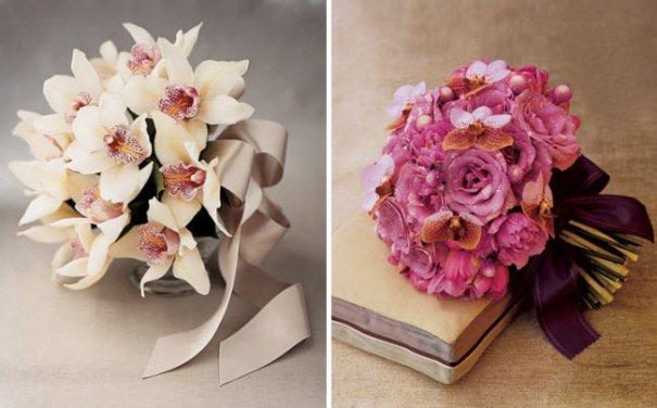 Букет из орхидей для девушки