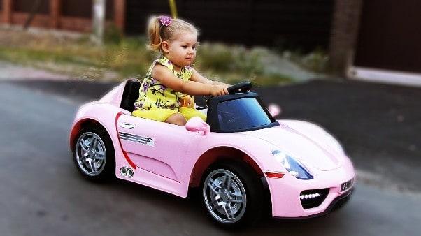 Автомобиль для девочки