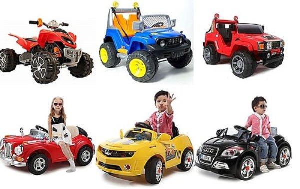 Разнообразие детских электромобилей