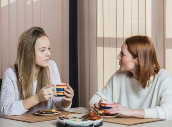 разговор дочери с мамой