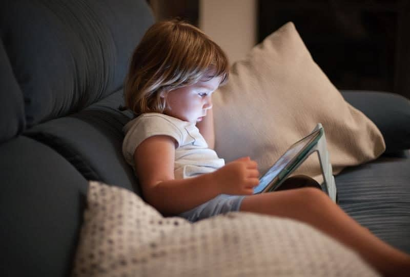 Влияние компьютера на сон ребёнка