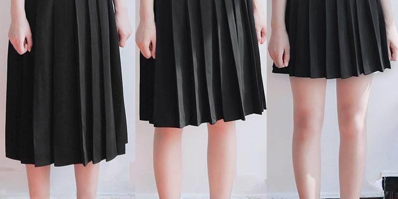 Как сшить школьную юбку в складку